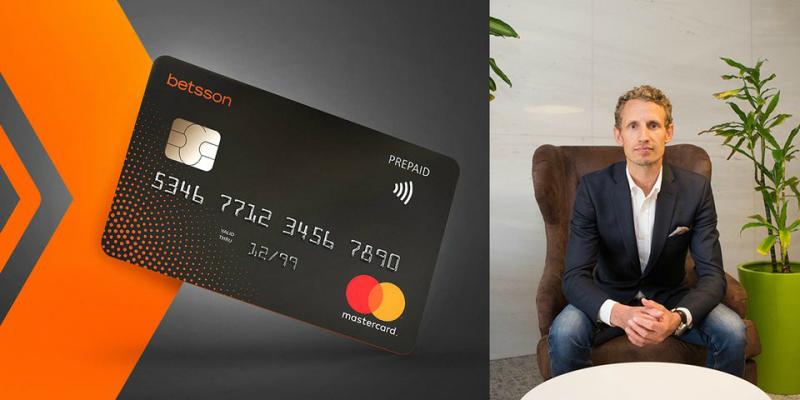 Betsson kontokort Mastercard