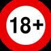 Åldersgräns 18+