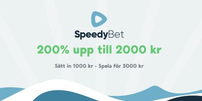 Speedybet bonus bakgrund