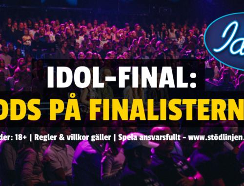 ODDS IDOL 2019 -> Här är oddsen inför kvällens final!