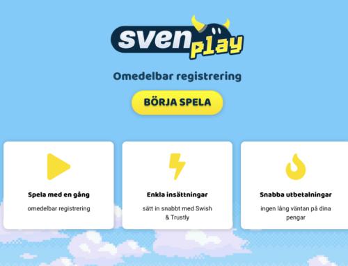 Svenplay Casino – NU live!
