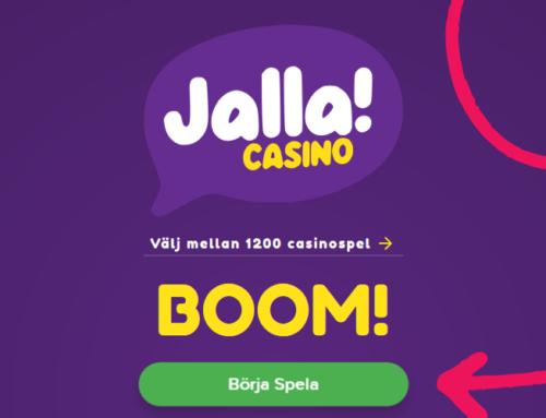 Vi kan stolt presentera att Jalla Casino är LIVE!