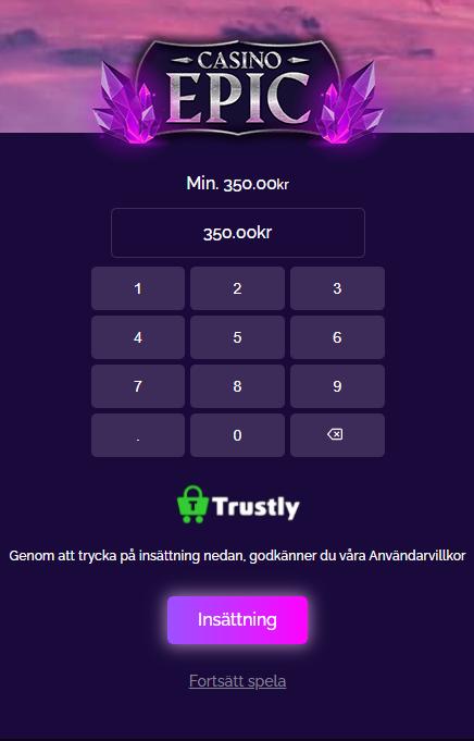 Casino Epic Bonus 2020