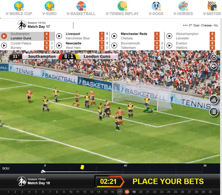 CampoBet Sports Virtuella