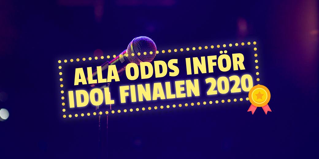 Idolfinalen 2020 Odds