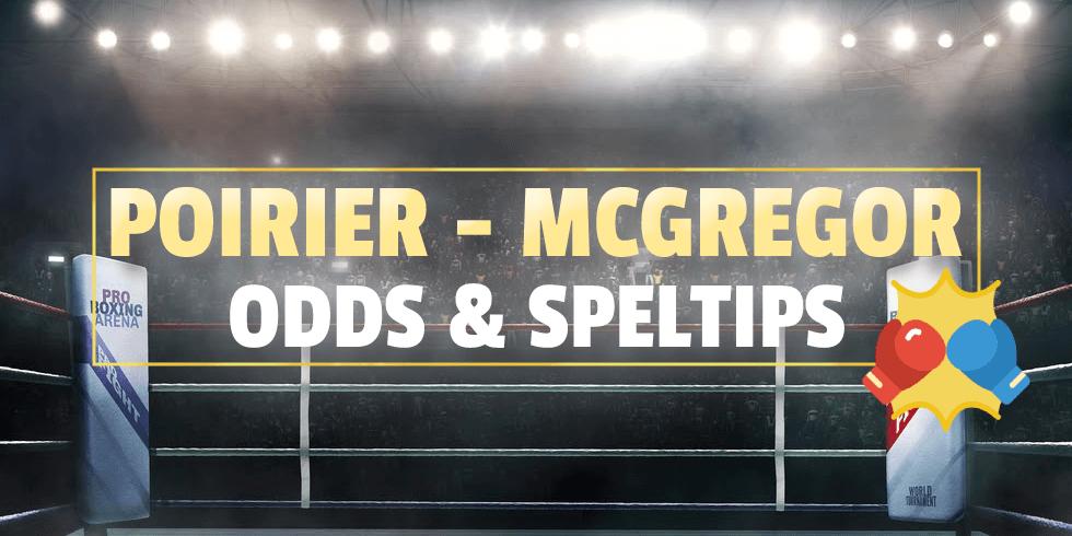 Odds Poirier McGregor