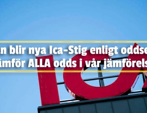 Odds Ica-Stig – Oddsjämförelse av oddsen på Ica-Stig