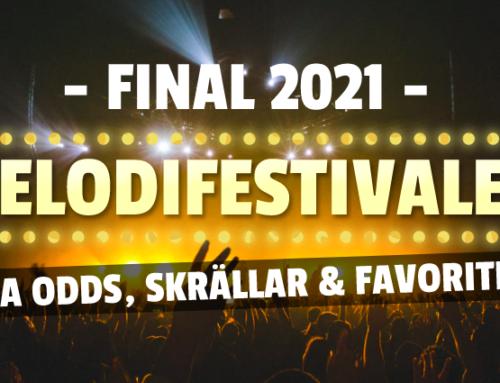Final i Melodifestivalen 2021: Allt om Oddsen