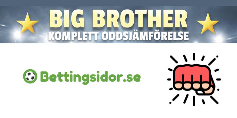 Big Brother Odds 2021