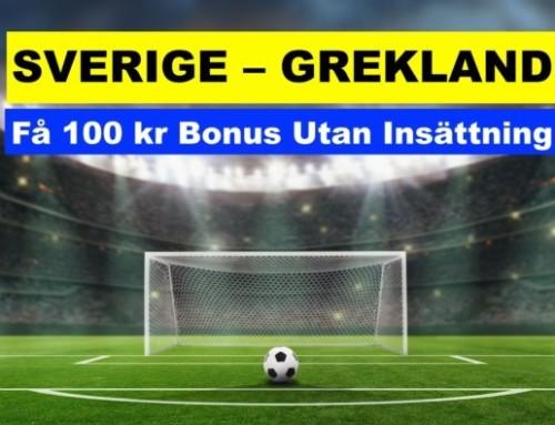 Bäst Odds Sverige – Grekland i VM-Kvalet (12/10/21)