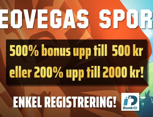 Nyhet: Snabba uttag och verifiering med BankID hos LeoVegas!