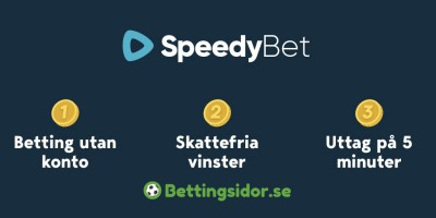 SPeedyBet bettingsidor betting bakgrund