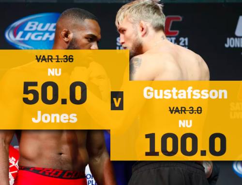 Alexander Gustafsson vs Jon Jones